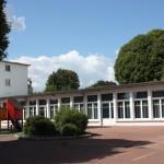 Cour de l'école Le Muguet été 2014