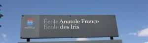 Groupe scolaire Anatole France - Les Iris été 2014©FCPE Chaville