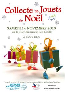 Déposez vos jouets d'occasion en bon état samedi 14 novembre au marché de Chaville