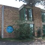 Façade de l'école Les Myosotis été 2014