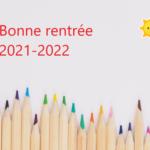 La FCPE Chaville vous souhaite une bonne rentrée 2021-2022